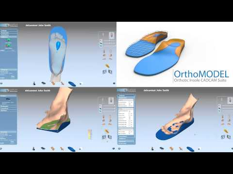 Delcam Orthotic Insoles CADCAM and scanning solution