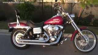 6. Used 2006 Harley Davidson FXDWG Dyna Wide Glide