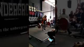 I.Us Hector Javier Masters I Powerlifter hits a 180kg DL for a PB in his first competition at Return of the Iron August 2017 @ Iron...