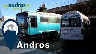 Andros | Getting the Bus in Andros