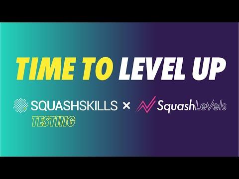 SquashSkills x SquashLevels introducing: Squash Testing