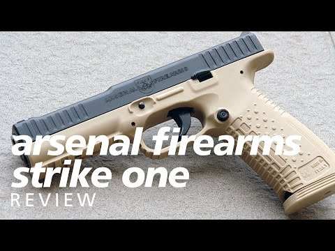 Review: Arsenal Firearms AF1 Strike One – a Russian Glock-beater?