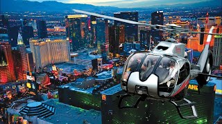 Book your travel activities at http://www.viator.com/vegas-heli Experience Las Vegas from high above on this night flight helicopter tour. See the bright lig...