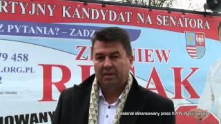 Film do artykułu: Zbigniew Rusak, kandydat do...