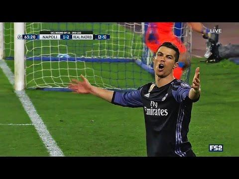 Cristiano Ronaldo vs Napoli ● Champions League ● (07/03/2017) ● Individual Highlights HD