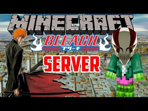Minecraft Server: Bleach RPG Server! – Part 1: Soul Reapers and Hollows