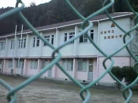 【広島市安佐北区】日浦西小学校【廃校木造校舎】