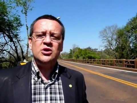 Secretário visita ponte que liga Santo Ângelo a Entre-Ijuís na ERS-344