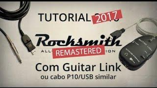 Nesse vídeo você aprenderá como jogar Rocksmith 2014 REMASTERED sem o Real Tone Cable e sim com o Guitar Link ou cabo P10/USB, o método funciona ...