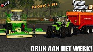 {NL} 'DRUK AAN HET WERK!' Farming Simulator 19 Taylor Farm Multifruit {G29}