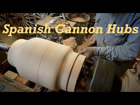 Turning Spanish Cannon Hubs