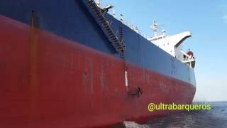 """Bulk Carrier """"CHRIS"""" #ZonaComún #RioDeLaPlata / On board Pilot Boat """"COMETA"""" - 1602 LT - 13.07.2017 Bulk Carrier """"CHRIS""""..."""
