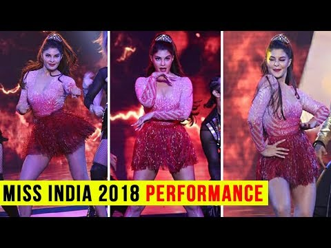 Femina Miss India 2018 : Jacqueline Fernandez Perf