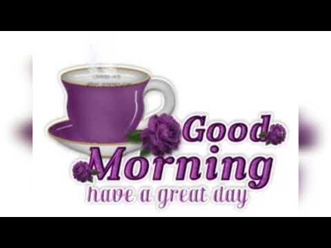 Good Morning Whatsapp Status Video |Good Morning Wishes, Greeting, Status, Gif, Cards, शुभ प्रभात ।