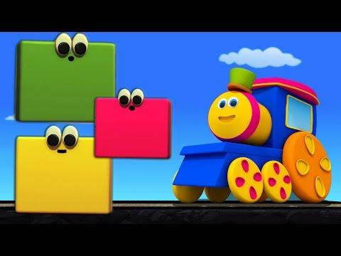 Bob Farben Zug   Kinder lernen   Bildungsvideo   Educational Bob The Train   Bob Colors Train
