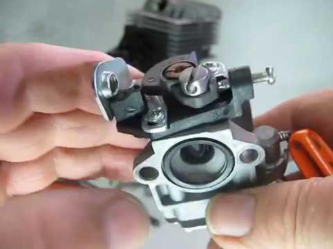 reglage carburateur RUIXING debroussailleuse.carburateur a membranes RUIXING