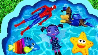 Colors and Characters for Toddlers, Barbie, Super Heroes, Pj Masks, Paw Patrol