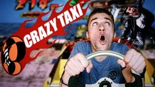 LE JEU DE VOITURE LE PLUS WTF - Crazi Taxi