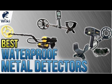 10 Best Waterproof Metal Detectors 2018
