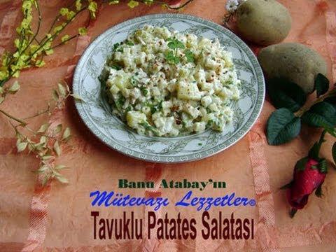 0 Patates Salatası Tarifi Resimli