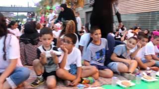 أضخم تجمع لأطفال مدينة يافا في الافطار الجماعي