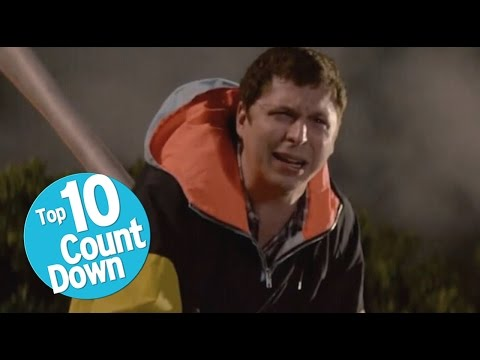 One More Top 10 Hilarious Movie Deaths (видео)