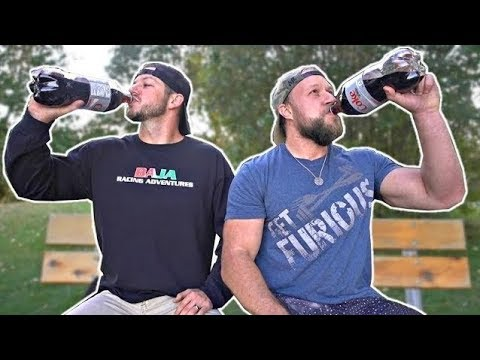 2 Liter Diet Coke No Burp Challenge (w/ Demolition Ranch)