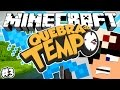 VAMOS AO PASSADO? - QUEBRA DO TEMPO! - Minecraft #3