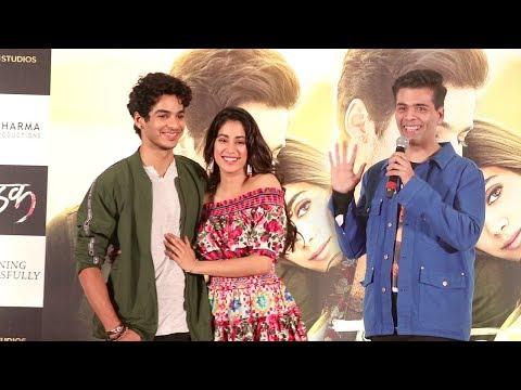 LIVE Dhadak Movie GRAND Success Celebration Complete Video HD-Jhanvi Kapoor,Ishaan Khattar