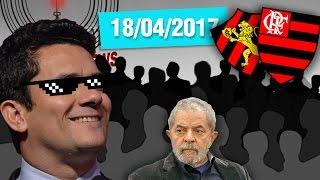 """Lula tentou zoar Moro, mas Moro acabou zoando Lula… #LulaNaCadeiaSE INSCREVE AÍ NESSA BAGAÇA http://bit.ly/2dlmOXnTORNE-SE MEU PATRÃO ;-) http://www.patreon.com/CanalDoOtarioDOAÇÕES http://www.canaldootario.com.br/doacoes/Acesse o site http://CanalDoOtario.com.brLojinha do Canal do Otário http://canaldootario.com.br/store_Utilize o código: CANALDOOTARIO na primeira corrida do UBEREste código oferece uma viagem com desconto de até R$20 para novos usuários. O código é válido até 31/12/17 e é exclusivo para novos usuários.Abaixo segue um passo a passo para o uso do código.1º Baixar o Uber e/ou abrir o aplicativo http://ubr.to/2cxGDbL 2º Clicar no menu superior esquerdo (três traços do canto superior esquerdo).3º Clicar em promoções.4º Clicar em """"Adicione um código promocional"""".5º Escrever CANALDOOTARIO e clicar em aplicar.Para mais informações, fontes e links extras acesse:http://www.canaldootario.com.br/videos/moro-zueiro-fim-dos-sindicatos-e-flamengo-vs-sport/ Agradecimentos Especiais aos Patrões:Bruno BezerraDelcio JuniorAlbany PinhoRafael CostaMarcelo FerreiraAndré CastroPlínio DutraEdu CruzDaniel LacerdaFlávio AbraãoR SouzaObrigado, Patrões! O apoio financeiro ao Canal através do Patreon, está sendo fundamental para manter o Canal vivo e fazer vídeos como este!___Música e efeitos sonoros:Diego Vilas Boas"""