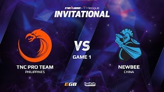 TNC Pro Team vs Newbee, Game 1, SL i-League Invitational S2 LAN-Final, Semi-Final