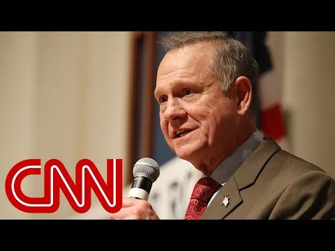 Roy Moore unwilling to concede (full speech)