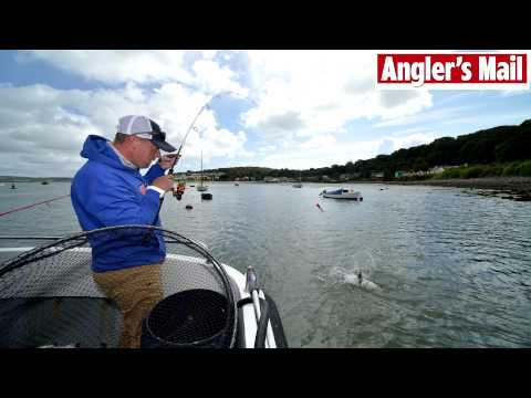 Sea fishing paradise tackled by Steve Collett (video)