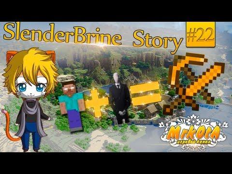 SlenderBrineStory #22: ЛЕТАЮЩИЙ ПАРИКМАХЕР! [Minecraft] (Mrk0tA)