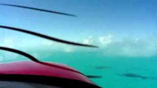 Take Off Cirrus SR22 Providenciales Island