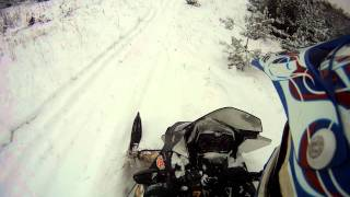 4. 2009 skidoo mxz adrenaline 800r riding