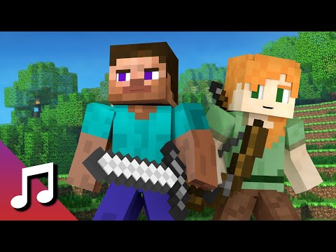 ♪ TheFatRat - Rise Up (Minecraft Animation) [Music Video]