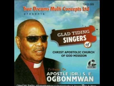 Our great Papa apostle Dr. S. E. Ogbonmwan of blessed memory
