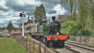A trip over to Dean Forest Railway now, for the first time in nearly two years, to see recently overhauled GWR Small Prairie no.5541 in action along the line...