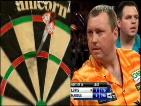 Premier League Darts 2008 – Week 14 – Adrian Lewis v Wayne Mardle pt. 4