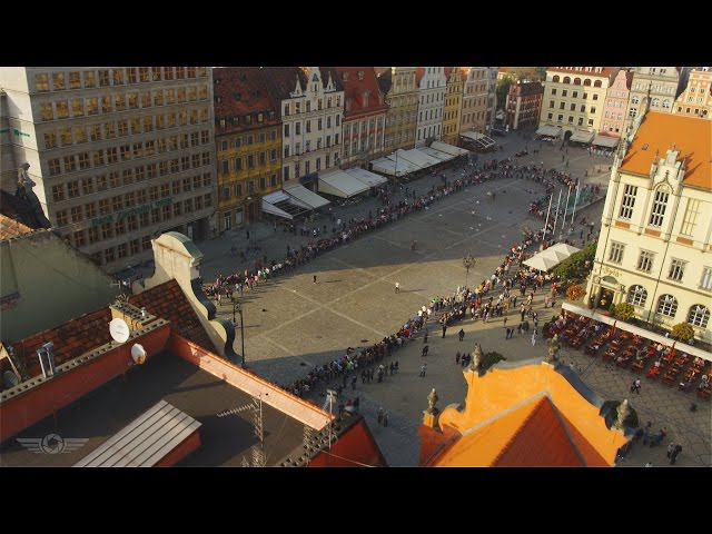Wroclaw  à vol d'oiseau