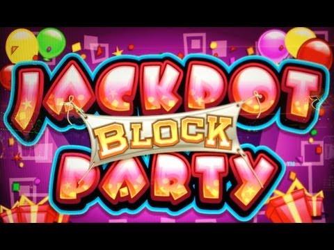 JACKPOT BLOCK PARTY #2 – 5c DENOM – BIG WIN – WMS