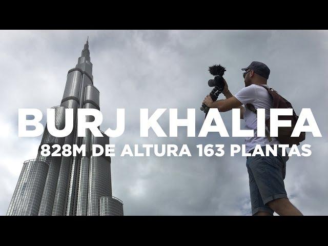 El rascacielos más alto del mundo | Burj Khalifa Dubai