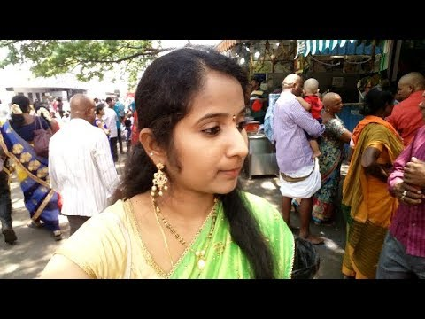 Tirupati Day 2 Dharshanam Vlog | Aarush Head Shave | Tirupati Journey