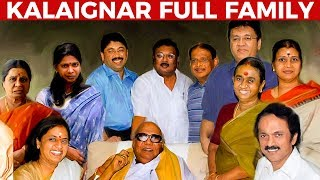 Video Kalaignar's WIVES and CHILDREN | Full FAMILY Details | Kalaignar Karunanidhi MP3, 3GP, MP4, WEBM, AVI, FLV Agustus 2018