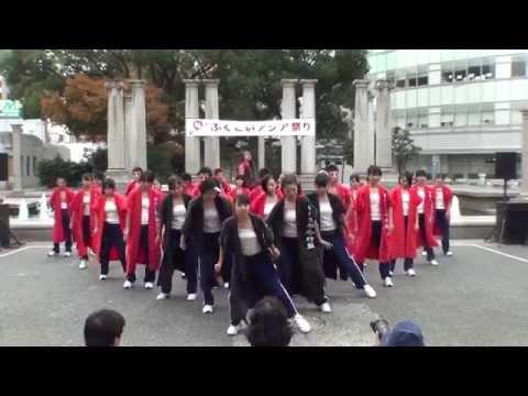 壱岐市立郷ノ浦中学校さん 2014 ふくこいアジア祭り