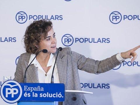 """Dolors Montserrat: """"El voto útil es al PP. Defendemos la Constitución y sacamos a España de la crisis"""