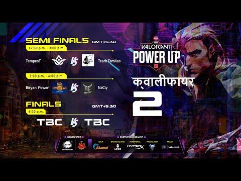 🔴 [HINDI] ESPL Valorant PowerUp India | Qualifier 2 - Finals Day