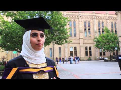 Reem Al Alawi   University Of Manchester graduation   INTO Manchester