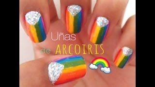 Uñas de Arcoiris - YouTube